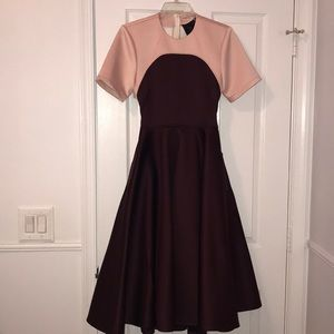 ASOS NWOT Formal Dress Pink/ Burgundy US Size 4